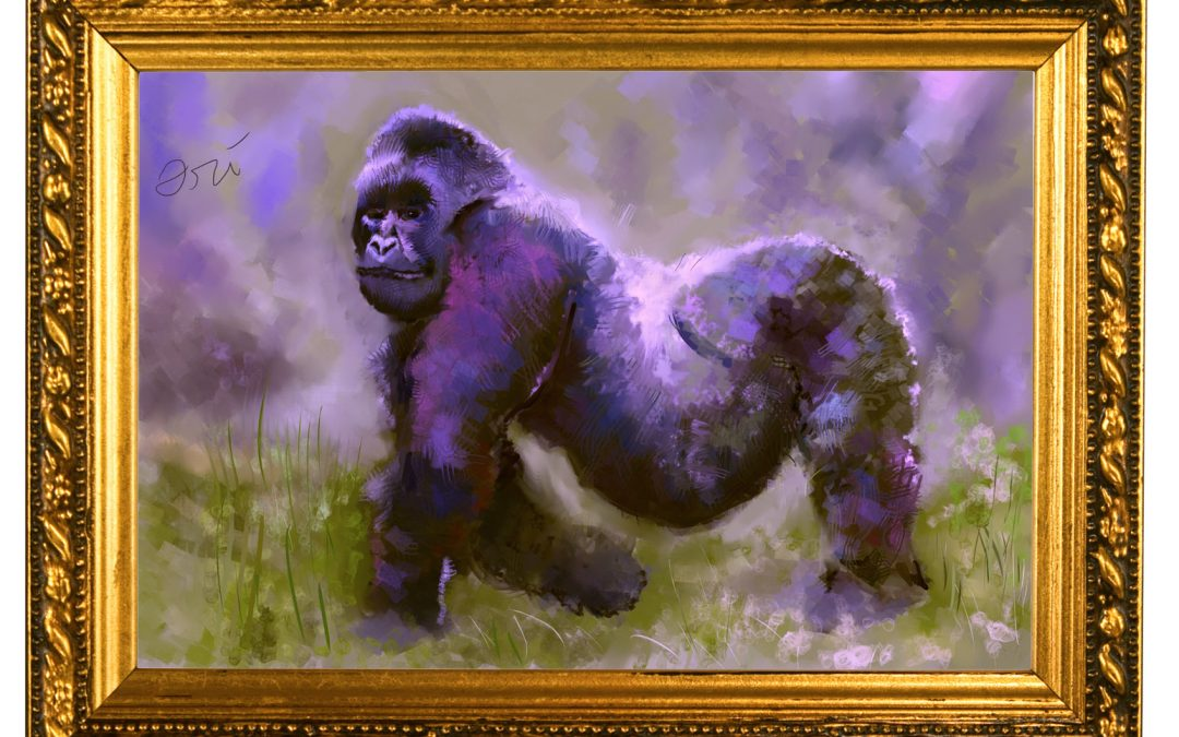 The 1,500th day Gorilla