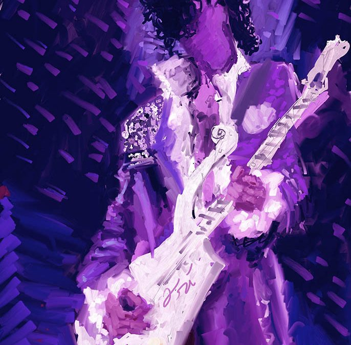 Painting of Prince – His Royal Badness